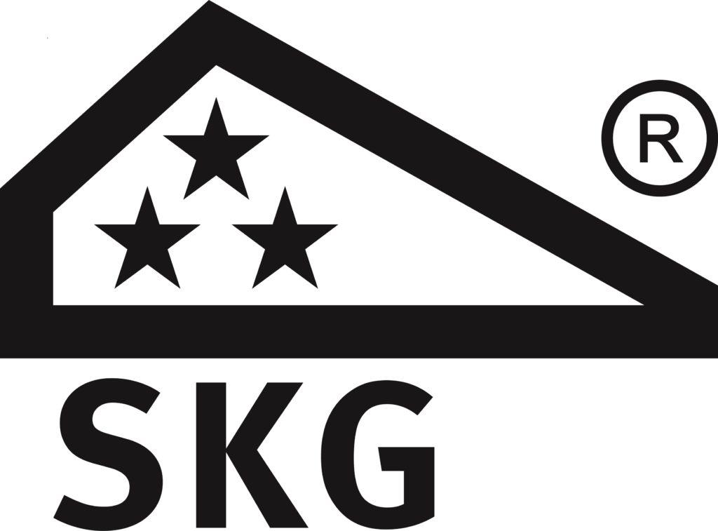 het skg 3 sterren logo zwaar inbraakwered